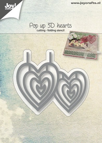 Joy! Crafts - Cutting & Embossingmal - Pop-up harten