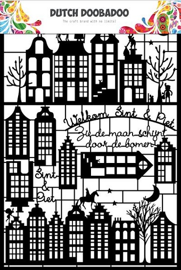 Dutch Doobadoo - Dutch Paper Art - Sinterklaas