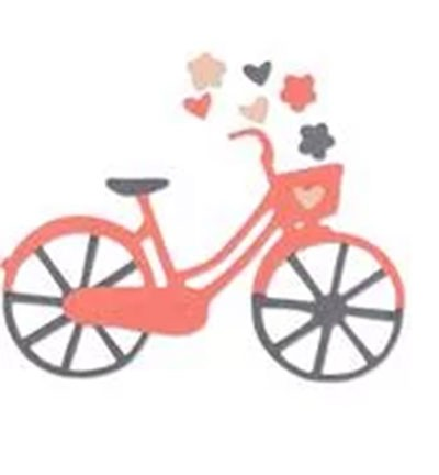Sizzix Thinlits - Bicycle - LIMITED EDITION