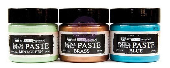 Finnabair - Art Extravagance - Patina Effect Paste Set