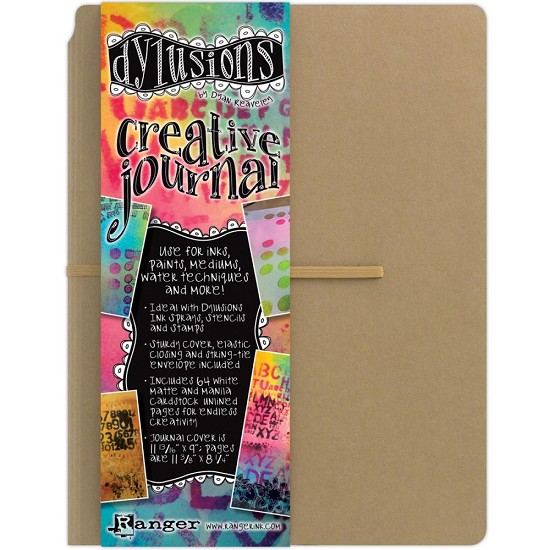 "Dyan Reaveley`s Dylusions Creative Journal - Kraft 11.75""X9"""