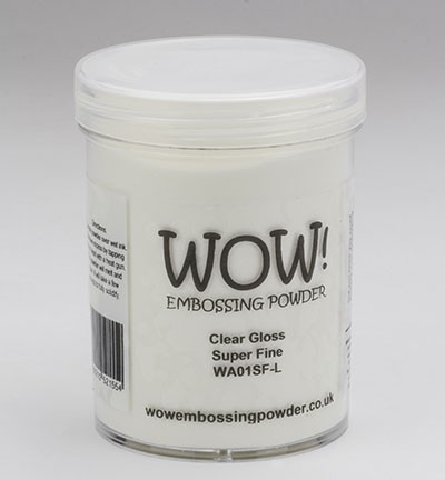 WOW! Embossingpoeder - Large 160 ml - Clear Super Fine