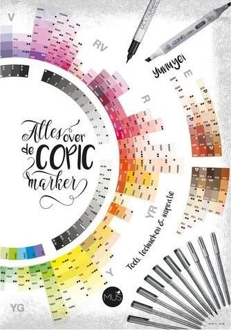 BBNC Boek - Alles over de Copic Marker