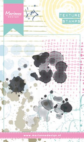 Marianne Design - Mixed Media stamp - Tiny`s Stains