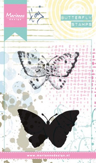 Marianne Design - Mixed Media stamp - Tiny`s Butterfly 2