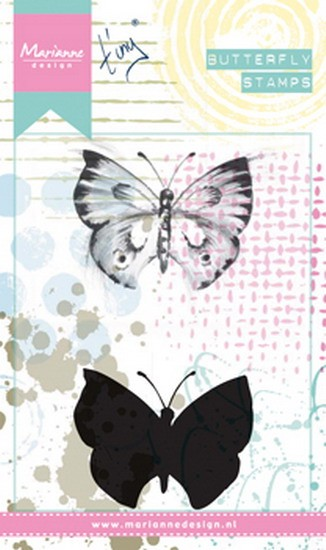 Marianne Design - Mixed Media stamp - Tiny`s Butterfly 1