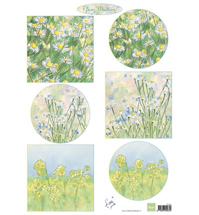 Marianne Design - 3D Knipvel - Tiny`s Flower meadow 1