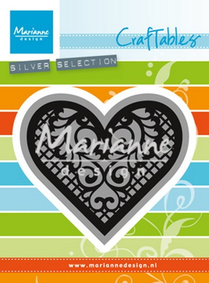 Marianne Design - Craftables - Lace Heart