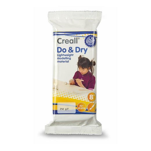 Creall - Do & Dry - Lightweight modelling material - white