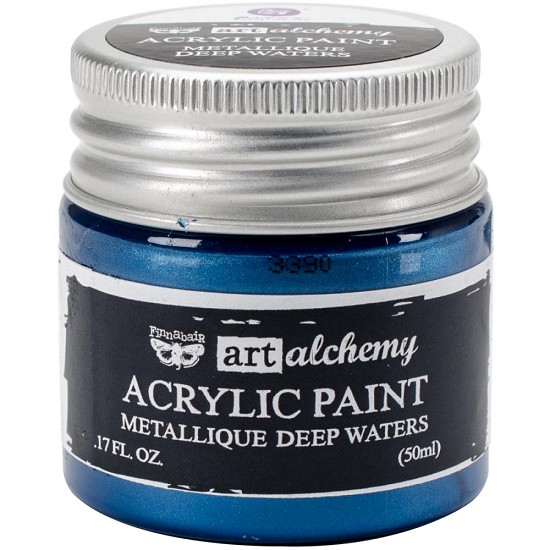Finnabair Art Alchemy - Acrylic Paint - Metallique - Deep Waters