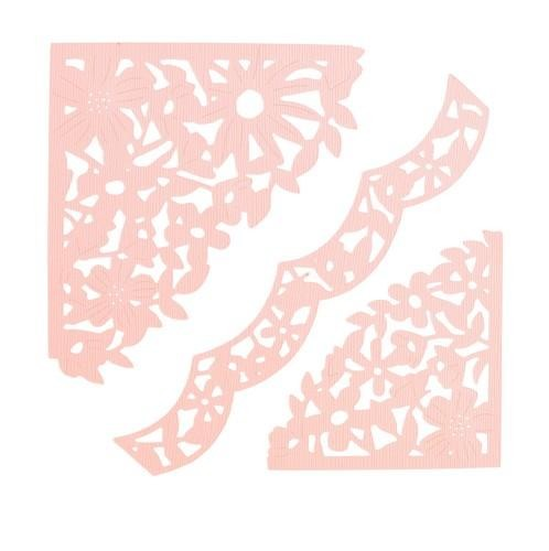 Sizzix - Thinlits Die Set - Decorative Corners (3PK)