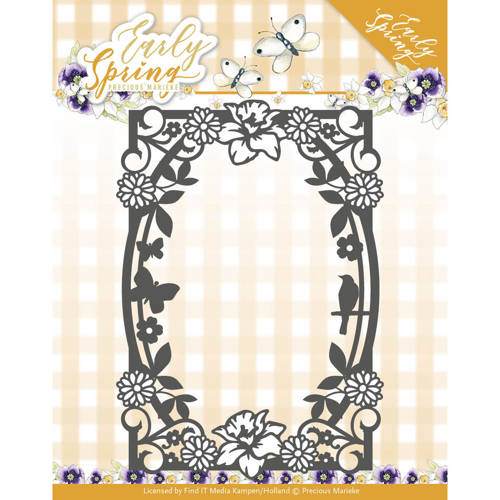 Stansmal Precious Marieke - Early Spring - Spring Flowers Rectangle Frame