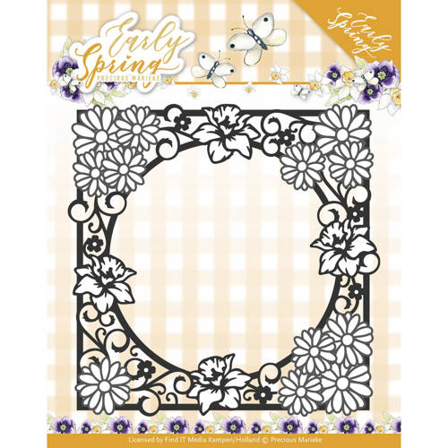 Stansmal Precious Marieke - Early Spring - Spring Flowers Square Frame