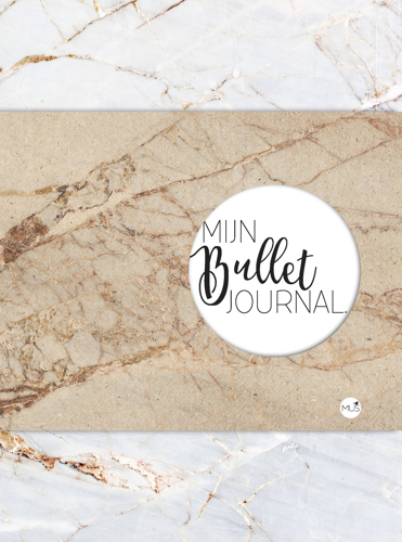 BBNC - Mijn Bullet Journal - Marmer