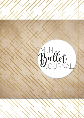 BBNC - Mijn Bullet Journal - Goud