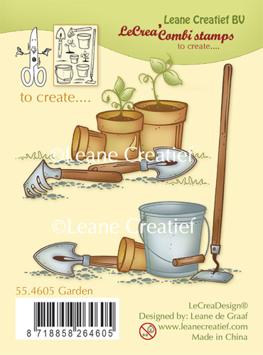 Leave Creatief - Combi Clear Stamp Garden