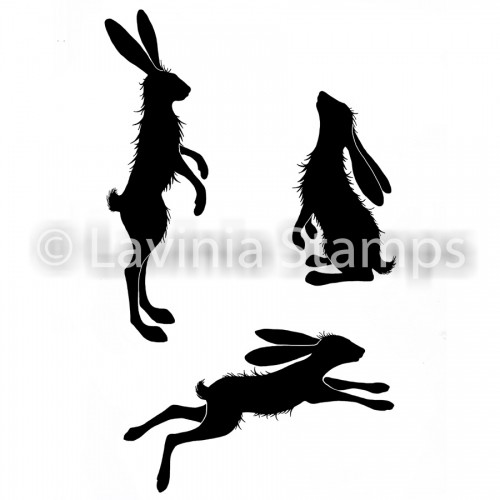Lavinia Stamps - Whimsical Hares