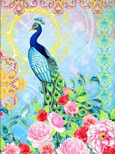 Diamond Dotz - 62X84cm - Exotic Peacock - DD15.009