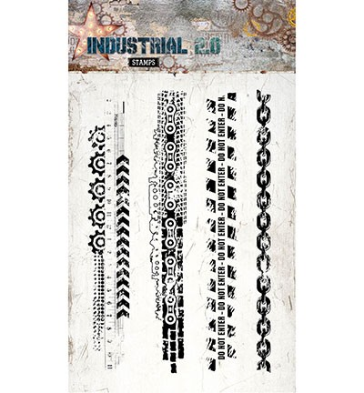 Studio Light - Industrial 2.0 - Clearstamp STAMP254