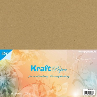Joy! Crafts - Kraft cardstock - 30,5 x 30,5 cm