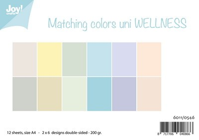Joy! Crafts - Matching colors uni - Wellness