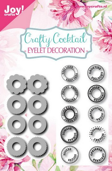 Noor! Design - Crafty Cocktails - Eyelet Decoratie
