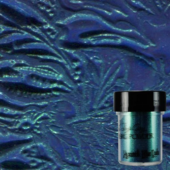Lindys Stamp Gang - Embossing Powder - Hyacinth Blue Jade