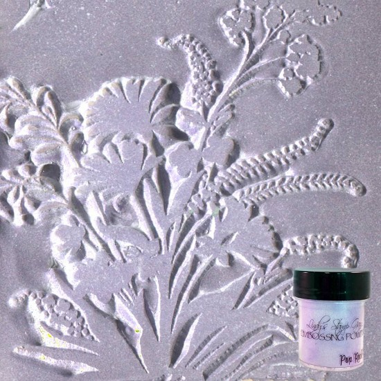 Lindys Stamp Gang - Embossing Powder - Pop Rock Purple