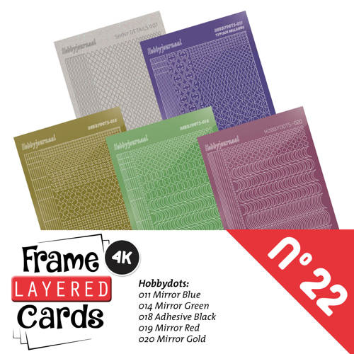 Frame Layered Cards 22 - stickerset