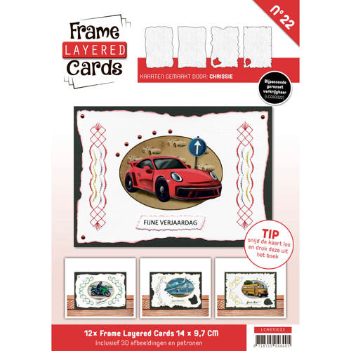 Frame Layered Cards 22 - A6 Daily Transport