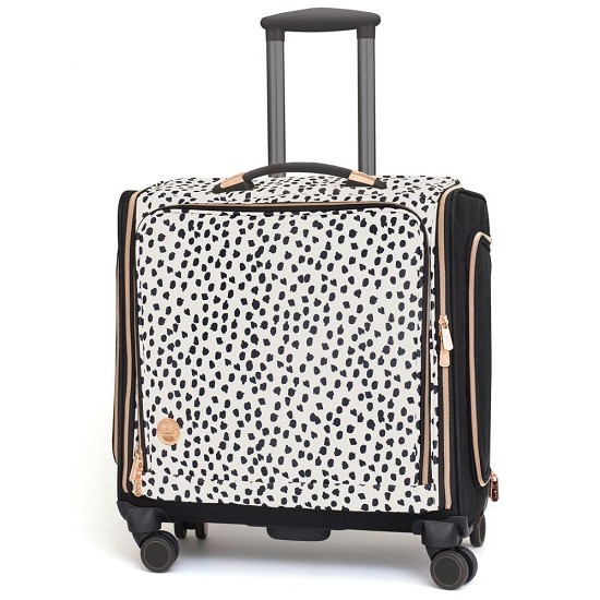 We R Memory Keepers - 360 Crafter`s Rolling Bag - Rose Gold Dalmatian
