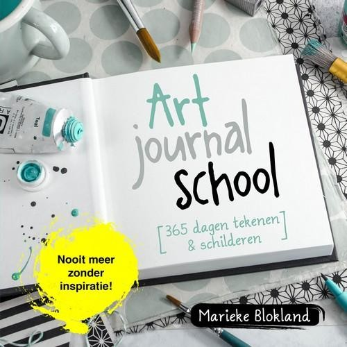 Kosmos boek - Art Journal School