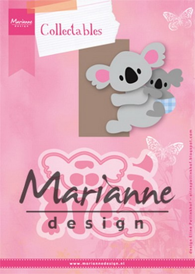 Marianne Design - Collectables - Eline`s koala & baby