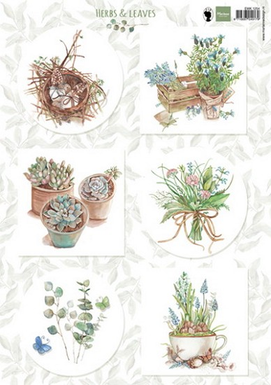 Marianne Design - Knipvel Els Weezenbeek - Herbs & Leaves 1
