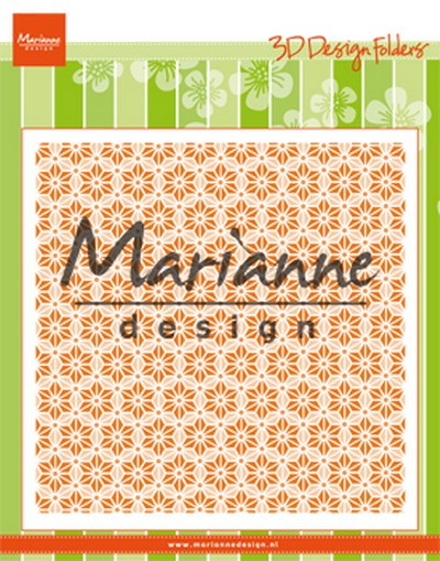 Marianne Design - 3D Embossingfolder - Japanese star
