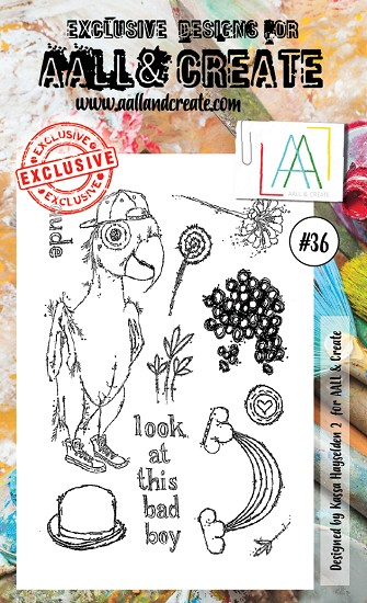 AALL & CREATE - Clearstamp A6 - set #36