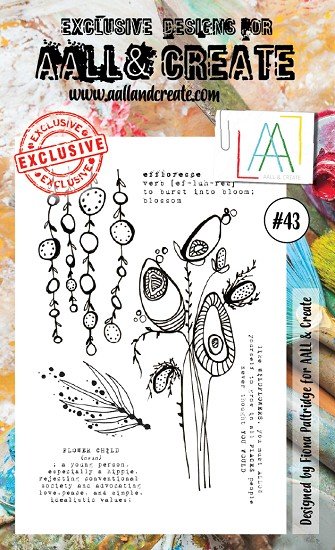 AALL & CREATE - Clearstamp A6 - set #43