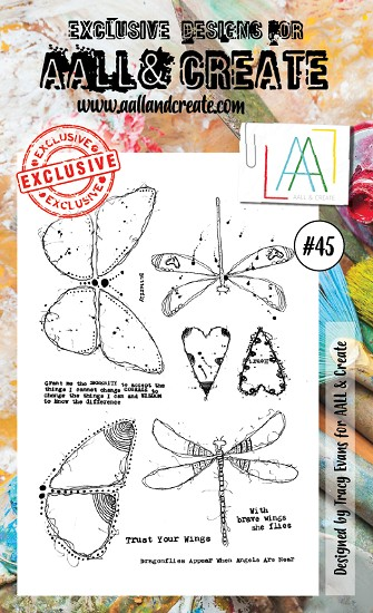 AALL & CREATE - Clearstamp A6 - set #45