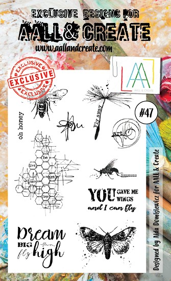 AALL & CREATE - Clearstamp A6 - set #47