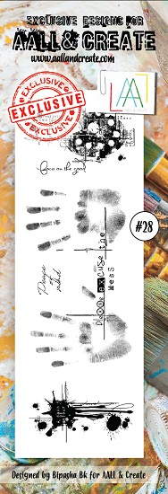 AALL & CREATE - Clearstamp Border - set #28