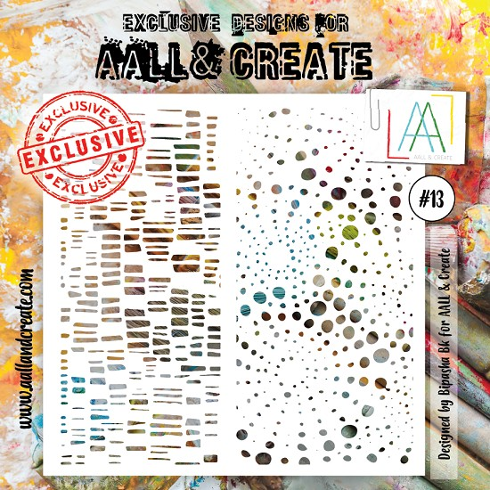 AALL & CREATE - Stencil set #13