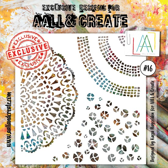 AALL & CREATE - Stencil set #16