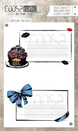 Clearstamp Coosa Crafts - Envelope Presents COC-035