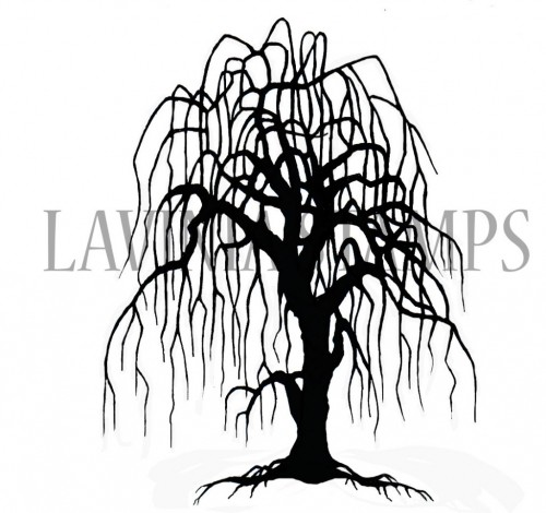 Lavinia Stamps - Weeping Willow Tree
