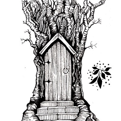 Lavinia Stamps - Fairy Door Large