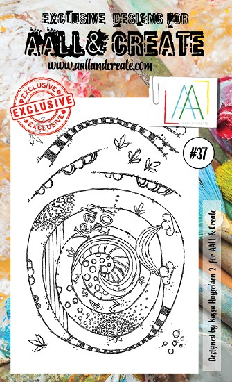 AALL & CREATE - Clearstamp A6 - set #37