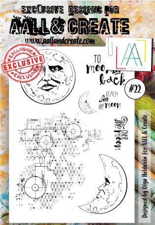 AALL & CREATE - Clearstamp A6 - set #22