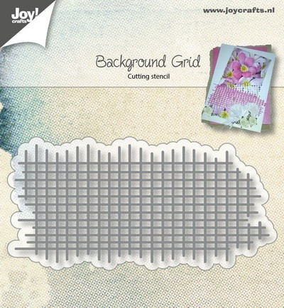 Joy! Crafts - Cutting & Embossingstencil - Bille`s Background Raster