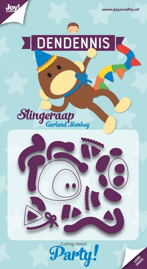 Joy! Crafts - Stansmal DenDennis Party - Slingeraap