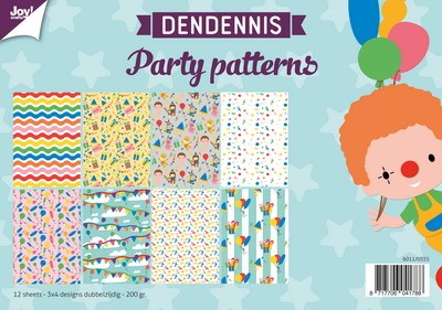 Joy! Crafts - Paperpad DenDennis Party - Party Patterns